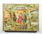 Saussine Atlas puzzle set, late 19th Century