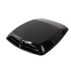 Car Decor Vent Air Flow Intake Hood Scoop Engine Bonnet ABS Cover Sticker Black