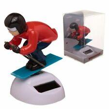 Peak Season esquiador Energía Solar Bailando figura-Coche Dashboard alféizar de la ventana de juguete