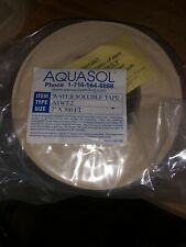 "Aquasol Aswt-2 Water Soluble Tape 2"" x 300'"