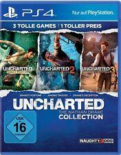 PS4 Spiel Uncharted: The Nathan Drake Collection komplett Deutsche Version NEU