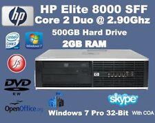 Computer desktop con hard disk da 500GB RAM 2GB