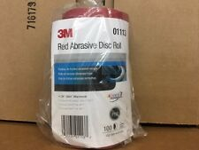 """3M 1113 Stick It Adhesive Back 6""""  150 Grit Disc Sandpaper 100 Sheets/Roll 01113"""
