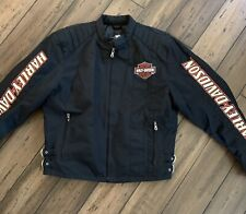Harley Davidson Nylon Racing Jacket Size Large  98001-03VM