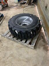 15x19.5 Foam Filled Tire Jlg 600 Aj 9 Lug 0273240 4800243 Boom Lift