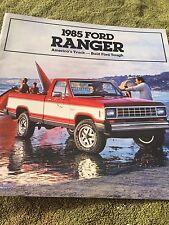 1985 Ford Ranger Truck Brochure Original Showroom literature NEW