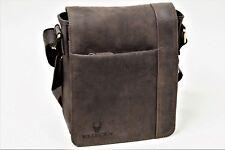 Bolsa bandolera bolso caballero Messenger Bag en auténtico cuero de búfalo en look vintage