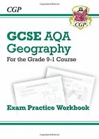 CGP Books - New Grade 9-1 GCSE Geography AQA Exam Practice Workbook