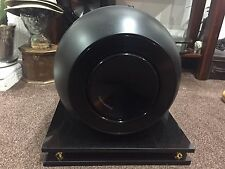 Speaker Solid Granite Bowers Wilkins With Black Isolations Spikes