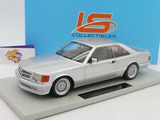 "LS Collectibles LS047C # Mercedes Benz Lorinser Coupe Bj. 1987 "" silber "" 1:18"