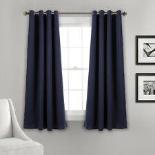 """Insulated Grommet Blackout Window Curtains,Includes two 26""""W x 63""""L panels"""