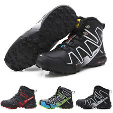 Men's Boot Durable Winter Warm Combat Hiking High Top Desert Lace Up Ankle Shoes