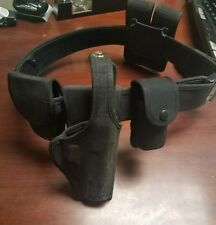 Bianchi nylon duty belt w/ pouches