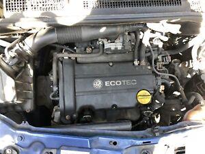 VAUXHALL CORSA D 1.2 PETROL COMPLETE ENGINE Z12XEP 90K
