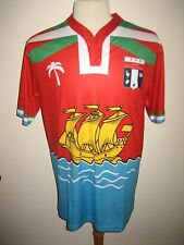 Saint Pierre & Miquelon home France football shirt soccer jersey maillot size XL