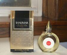Shalimar Guerlain Paris  Eau de Cologne 1.7 oz  Never Used MIB