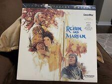 Robin and Marian Laserdisc LD Sean Connery Audrey Hepburn