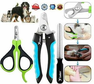 Pet Dog Nail Clipper Cutter Cat Scissor Animal Claw Trimmer Grooming Large Small