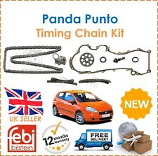 For Fiat 500 Doblo Punto Panda Qubo 1.3 Febi Bilstein Timing Chain Kit New