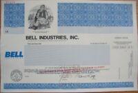 SPECIMEN Stock Certificate: Bell Industries / Telephone