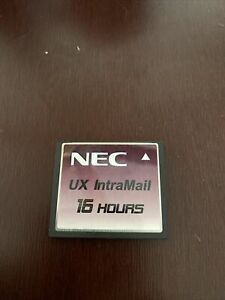 Nec Ux Intramail 16 Hours