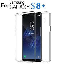 360 Protección De Cuerpo Completo Frente Y Espalda Caso Para Samsung Galaxy S8 Plus claro