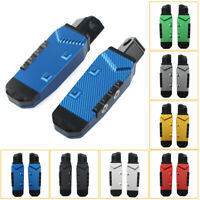 Rear Footrests Foot Pegs Pedal Pads For Suzuki GSXR600/750 GSXR1300 Hayabusa