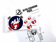 The Real Ghostbusters Replacement Stickers for Kenner 1989 Ecto-charger Pack