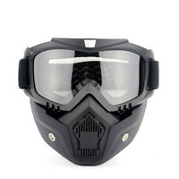 Non-slip Winter Snow Sport Goggles Full Face Mask Snowmobile Sun Glasses Eyewear