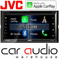"JVC KW-V820BT 6.8"" Doble Din CD DVD MP3 USB Bluetooth Pantalla Apple CarPlay coche"