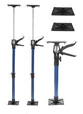 3 Türspanner + 2 Druckplatten extra 50-115cm Türfutterstrebe Türspreize 30kg
