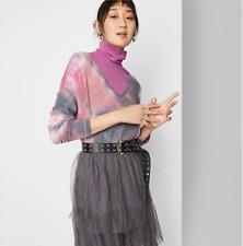 ❄️ NWT Wild Fable Tie Dye Women's Long Sleeve V-Neck Cozy T-Shirt ❄️