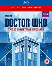 DOCTOR WHO THE 10 CHRISTMAS SPECIALS (Limited Edition) [Blu-ray] NEW & SEALED