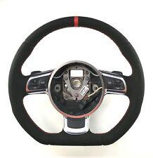 Audi TT 8J A3 8P Flat Bottom steering wheel Alcantara + leather !