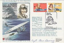 HA(SP)8bB  C Kingsford-Smith cover signed G Banning flew Honolulu to Nandi route