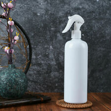 500ml Empty Plastic Trigger Bottle Car Cleaning Hand Spray Garden White Pet
