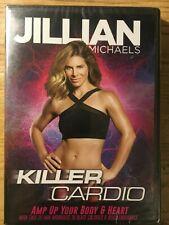 Jillian Michaels Killer Cardio exercise fitness DVD movie