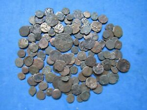 SCARCE Lot (123) pc. Indo-Sythian / Kushan/ Indo-Greek  Kingdoms  Bronze