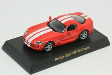 Kyosho 1/64 Dodge Viper SRT10 USA Sport Car Collection 1 Red