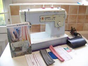 SINGER 413 FLEXI-STITCH ZIGZAG HEAVY DUTY SEWING MACHINE,EXPERTLY SERVICED