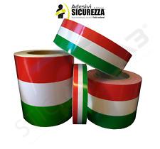 Fascia banda adesiva Tricolore bandiera Italiana Italia strisce auto 500 FIAT