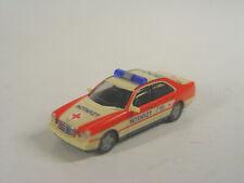 Mercedes E 200 Notarzt  - Herpa HO 1:87 Modell  043892 - #122  - gebr.