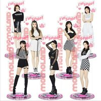 Kpop Momoland Acrylic Standee Action Figure Doll Standing Action Table Decor