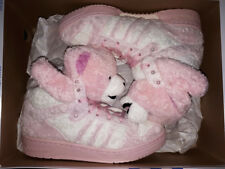 2010 ADIDAS JEREMY SCOTT JS BEAR TEDDY PINK UK 7 US 7,5 panda G44001 tiger zebra