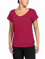 Vaude Damen Wander Trekking Freizeit T-Shirt Women's Skomer Shirt II crimson red
