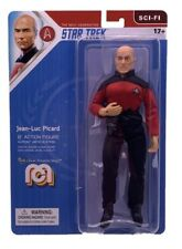 "Mego Star Trek Captain Picard 8"" Action Figure  TNG Sci Fi Wave 8 In-Stock!"