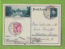 Deutsches Reich - Postkarte Rhön Segelflug Fliegerlager Wasserkuppe (B614)