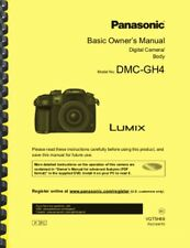 Panasonic Lumix DMC-GH4 DMCGH4 Camera USER OWNER'S MANUAL