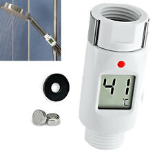 Waterproof Digital Shower Head Water Thermometer with Alarm Alert LED Light Baby