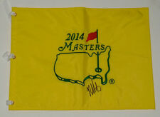 BUBBA WATSON AUTOGRAPHED 2014 MASTERS FLAG (W/ PROOF!)